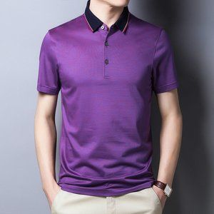 men's trendy short-sleeved t-shirt KJF
